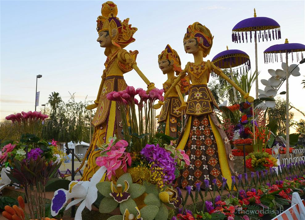 Rose Parade Float 2013 Indonesia