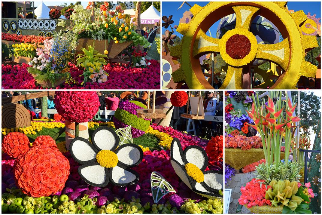 viewing the 2013 rose parade floats up close   the world