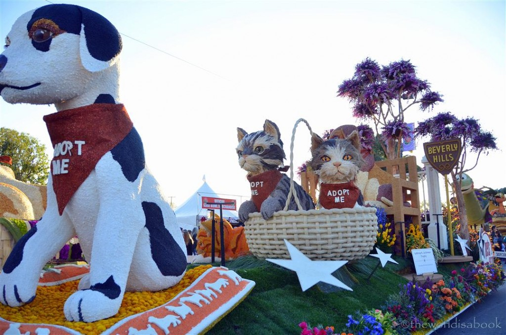 Rose Parade Float 2013 pet adoption