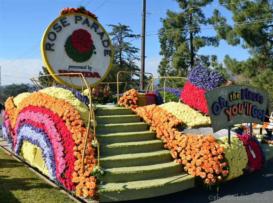 Rose Parade 2013 closing float