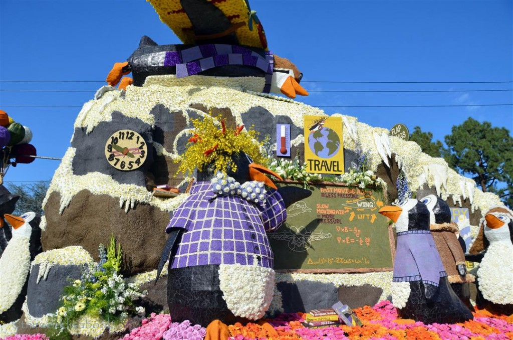 Rose parade float 2013 Cal Poly