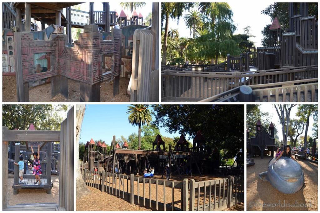 Santa Barbara Alameda park
