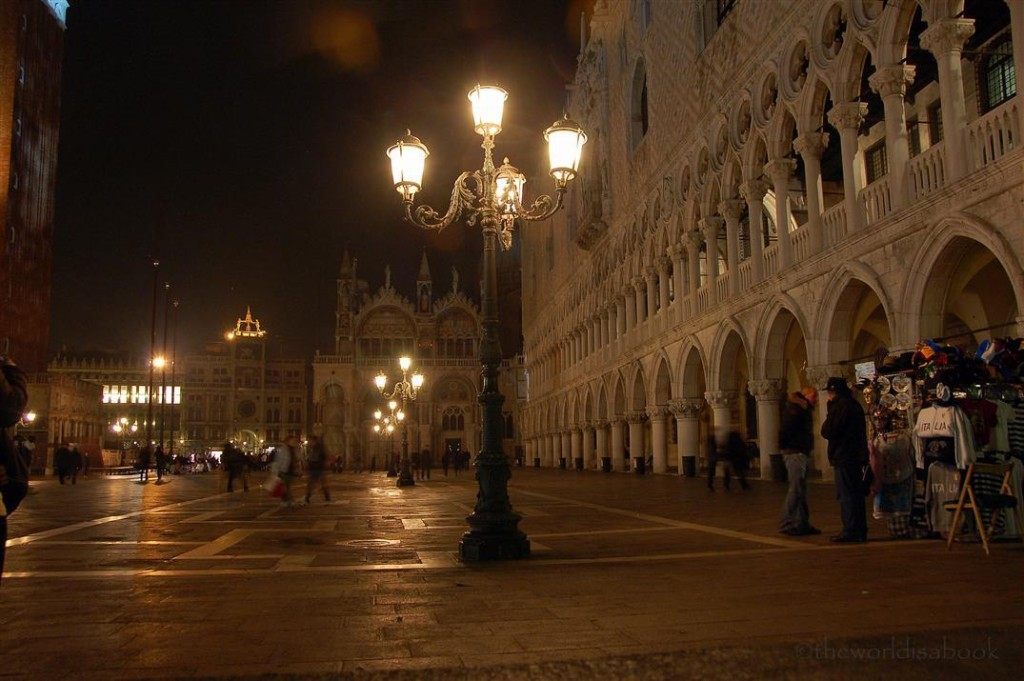 St Marks Square night