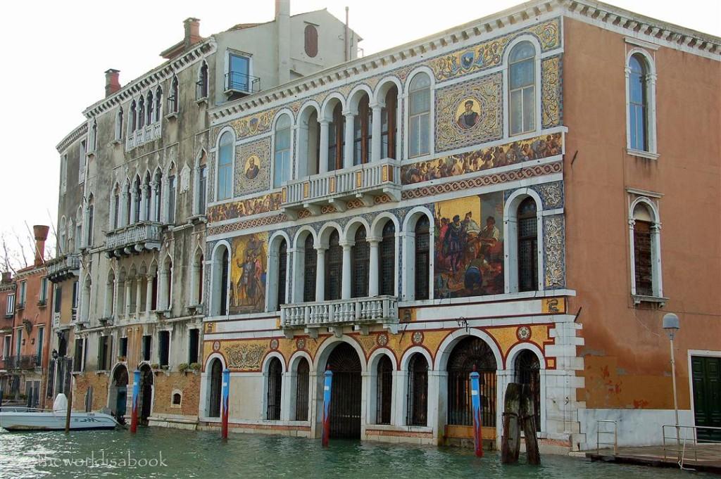 Venice Fresco building