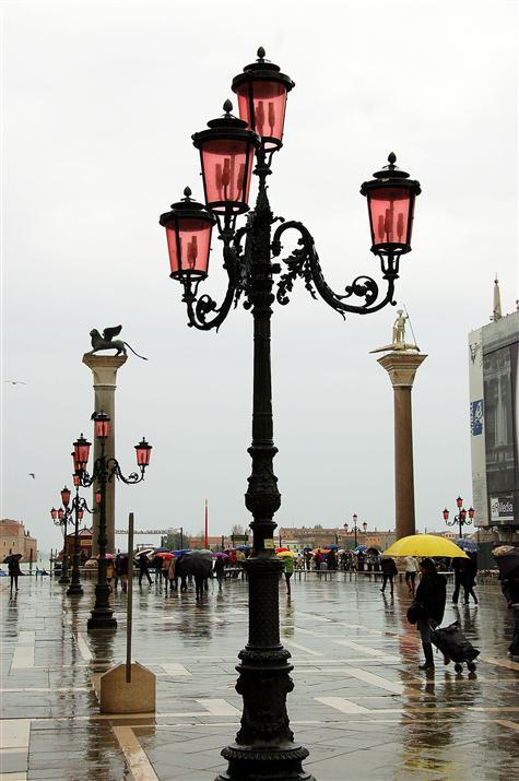 Venice in rain