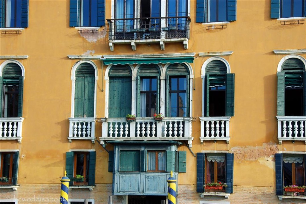 Venice window along Grand Canal
