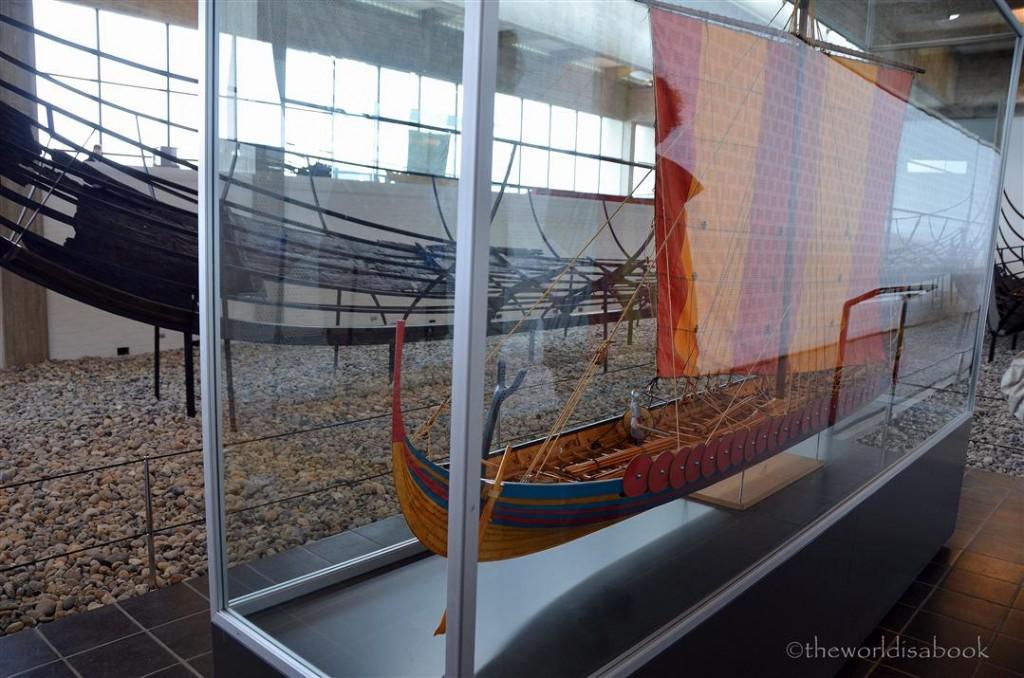 Viking Ship museum replica