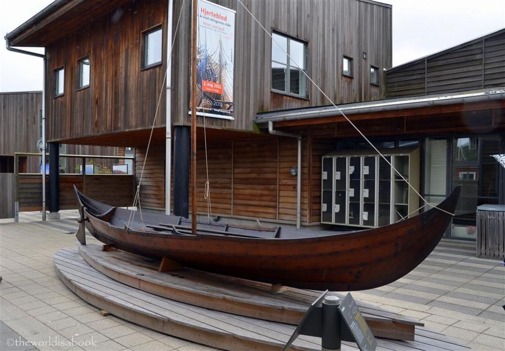 Viking ship museum ship replica