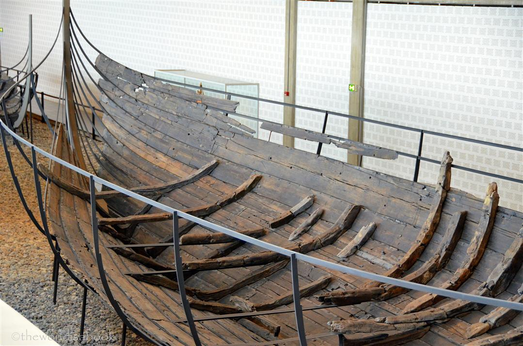 Viking ship museum Skuldelev ship details