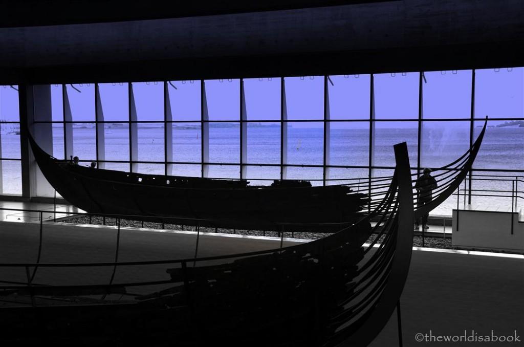 Viking ship museum view