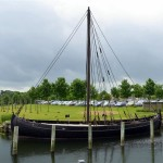 Visiting the Viking Ship Museum in Denmark