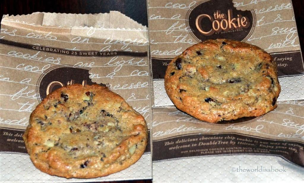 doubletree hotel cookies