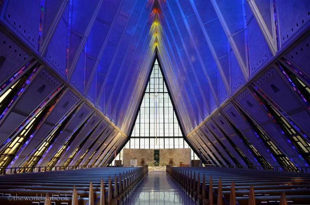 Air Force Academy Cadet Chapel inside
