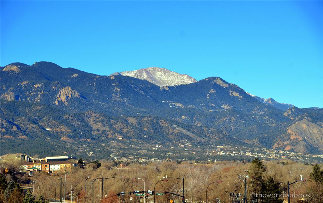 Colorado Springs Pike's Peak
