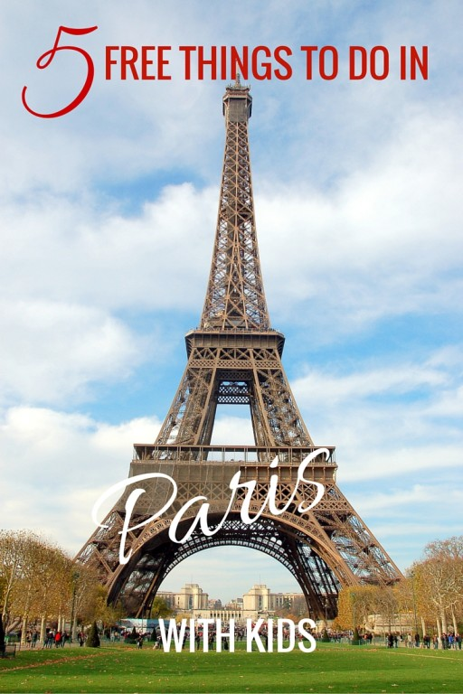 Free Things to do in paris with kids