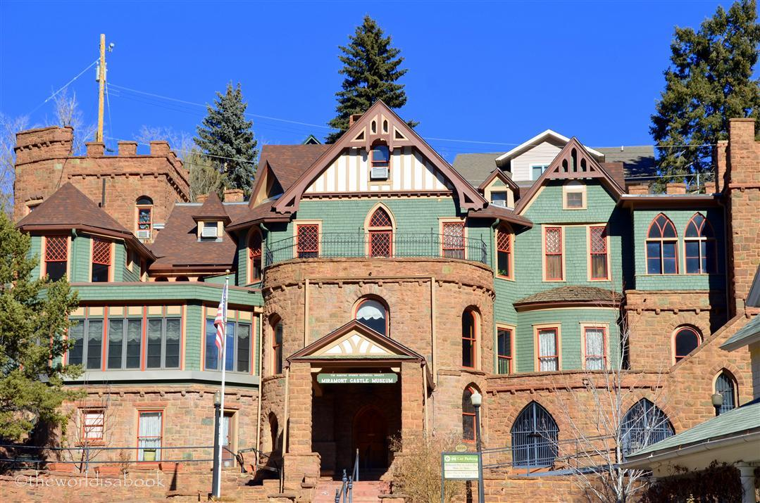 Manitou Springs miramont castle