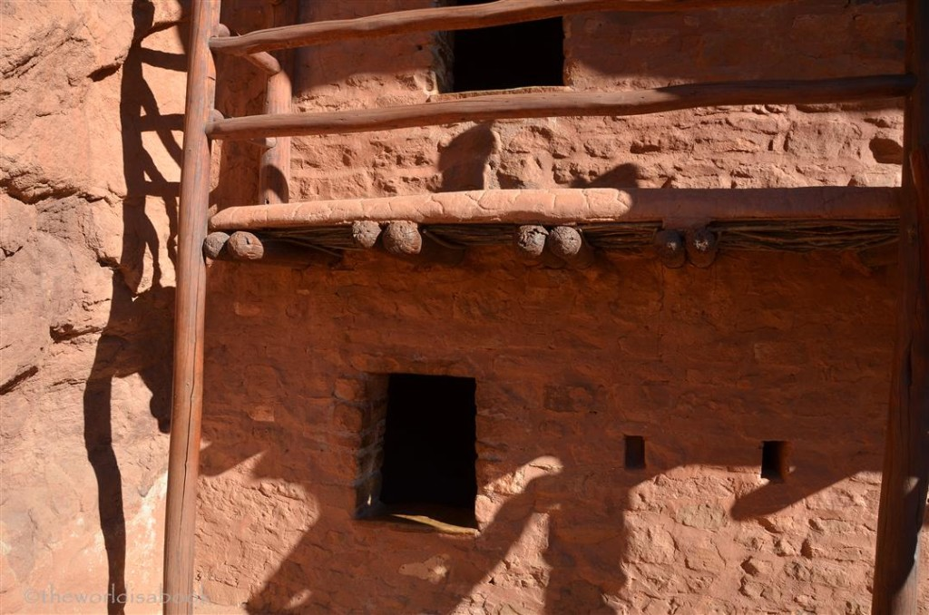 manitou cliff dwellings balcony detail