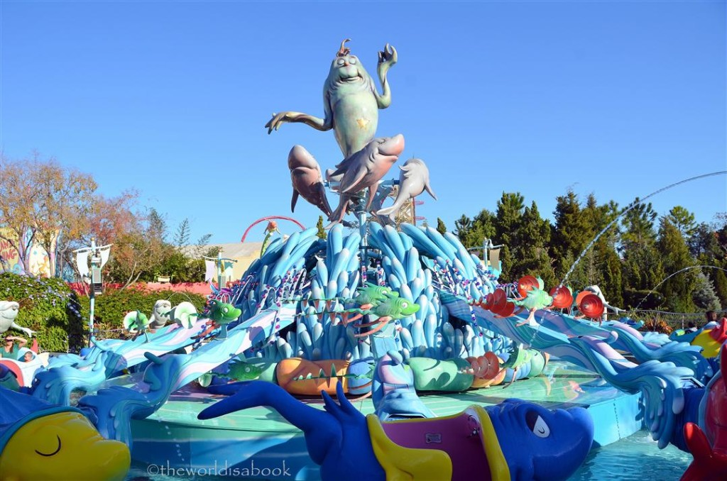 Seuss Landing One fish