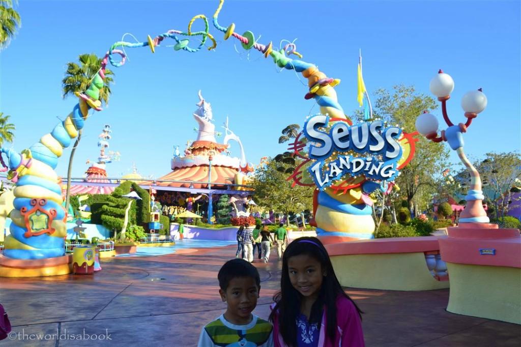 Seuss Landing entrance