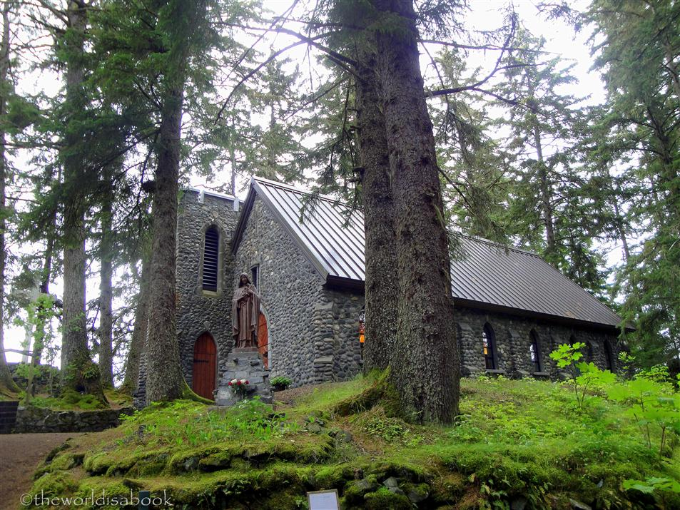 Shrine of St Therese chapel