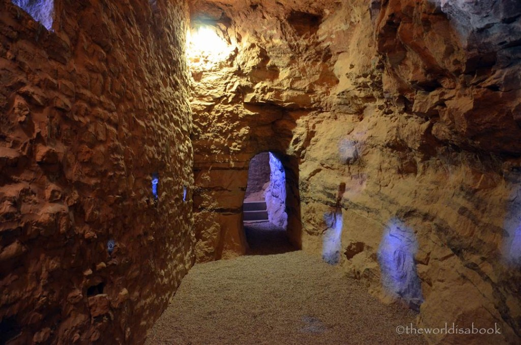 manitou cliff dwellings interior