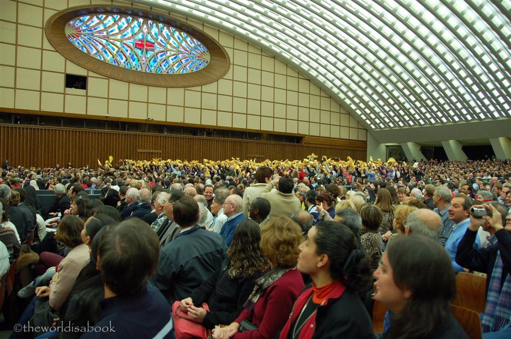 Vatican papal audience