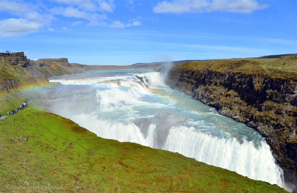 Gulfoss Waterfalls Iceland