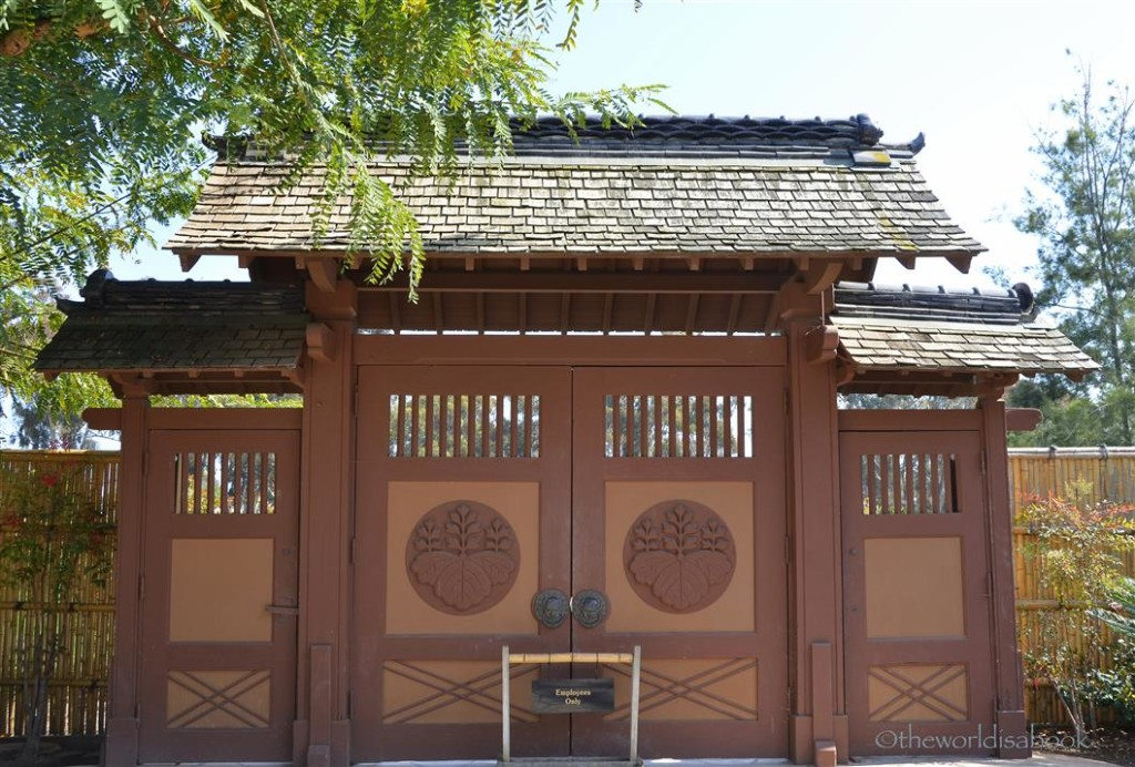 Japanese Friendship Garden Door