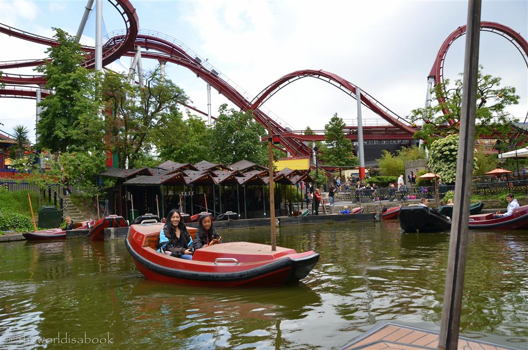 Tivoli Gardens Lake and Demon