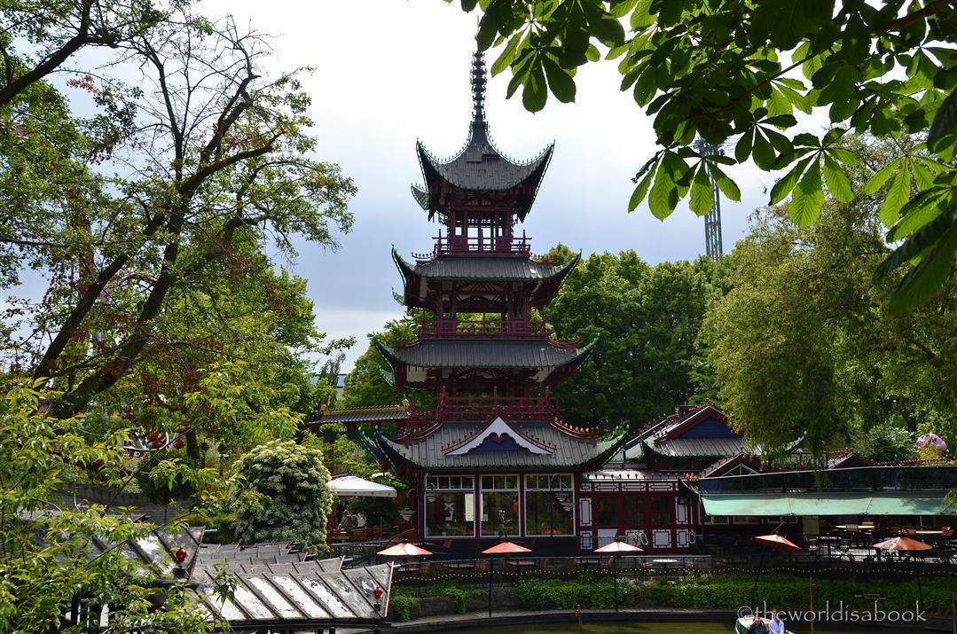 Tivoli Gardens pagoda