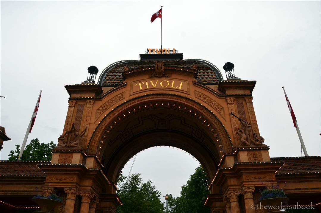 Tivoli Gardens sign