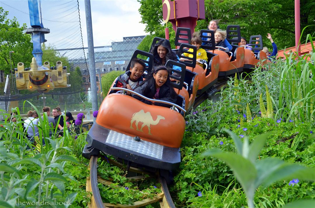 Tivoli gardens rollercoaster