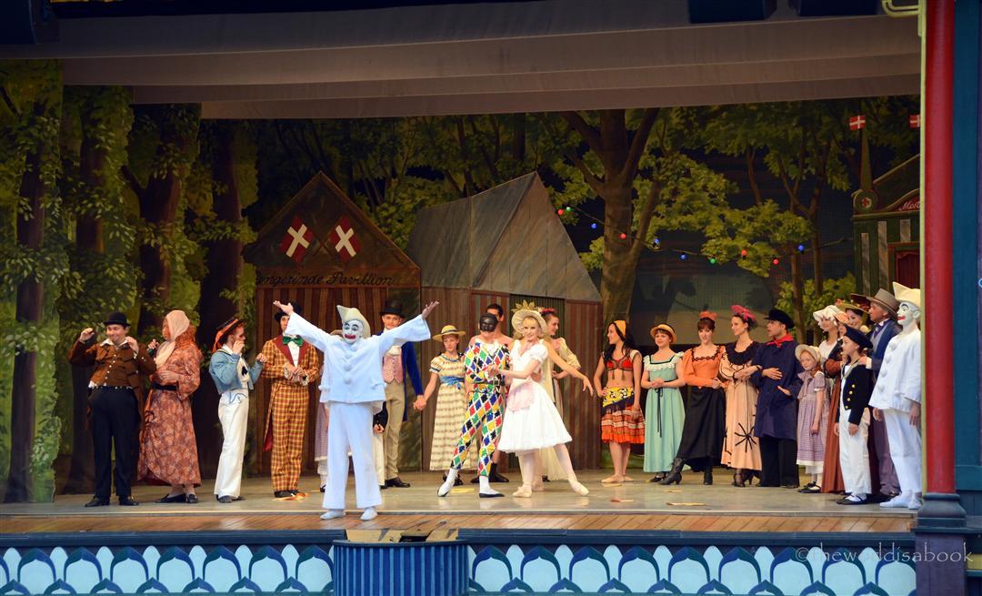 Tivoli pantomime show
