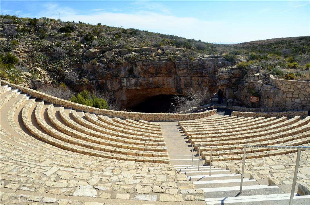 Carlsbad Caverns bat ampitheater
