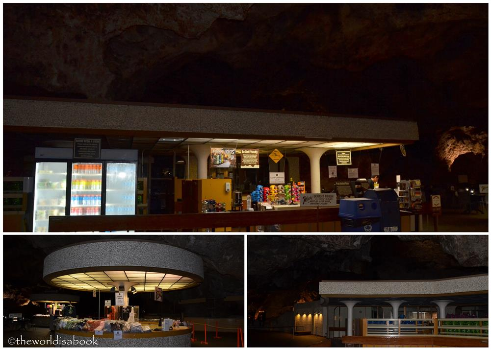 Carlsbad Caverns Underground Cafe