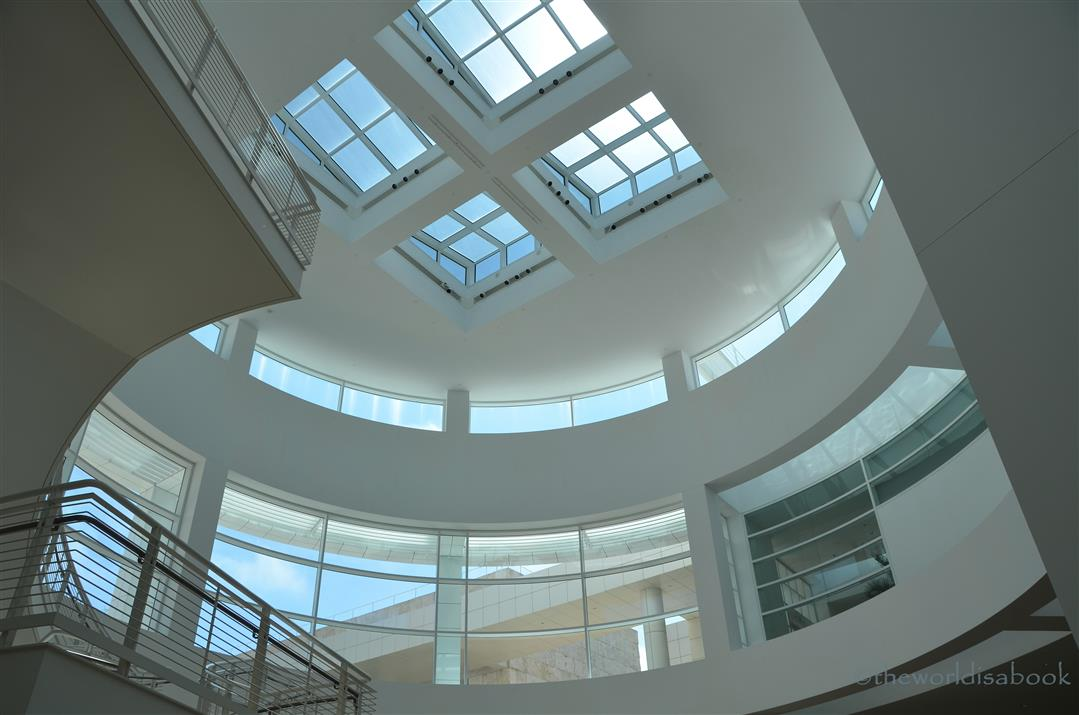 Getty Museum interior