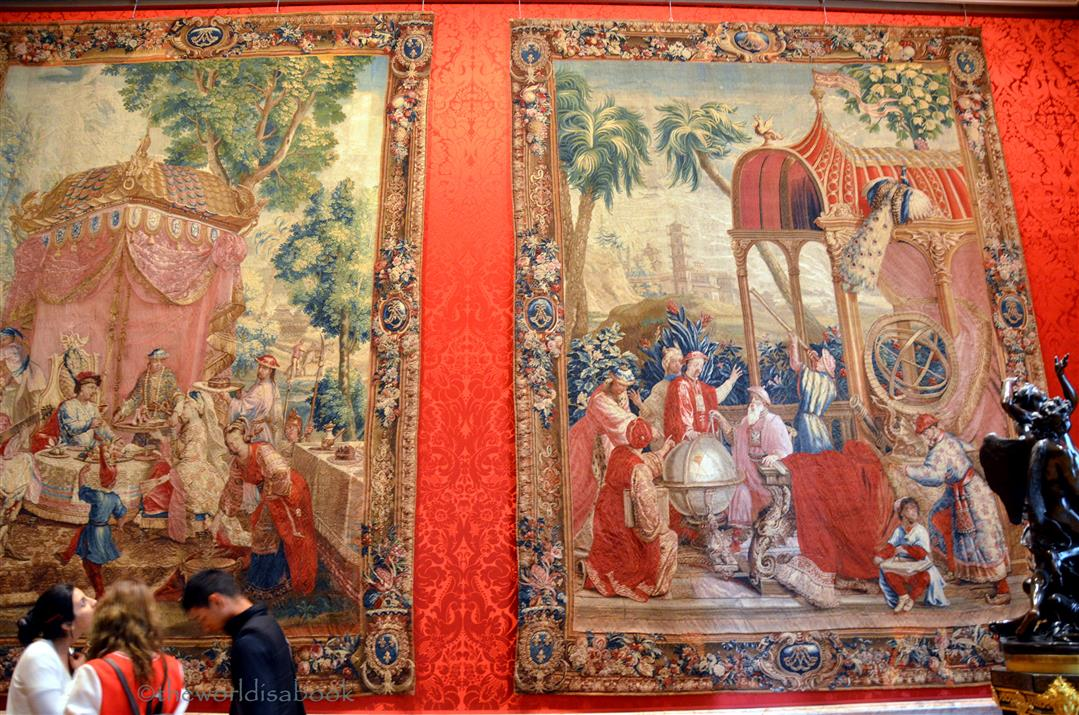 getty museum Tapestry