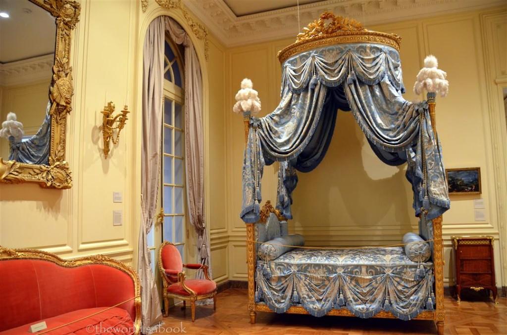 getty fancy bed