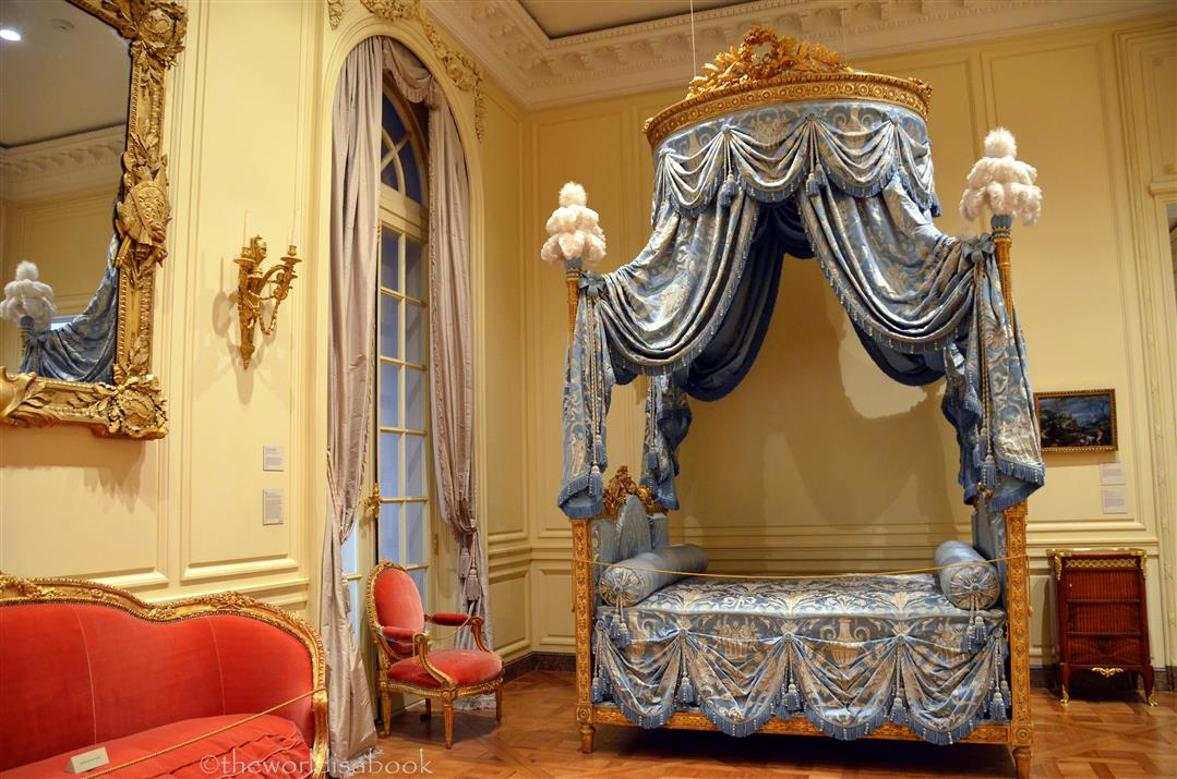 getty fancy bed