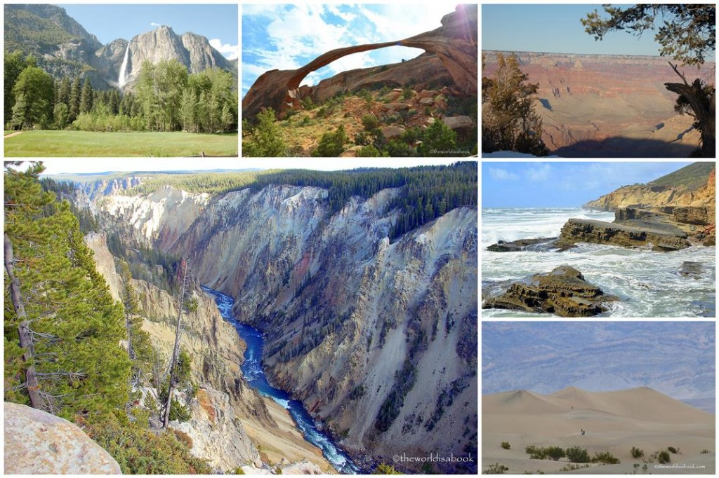 national park Week collage