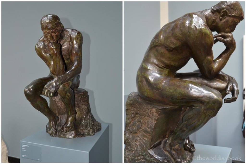 Glyptotek Rodin thinker