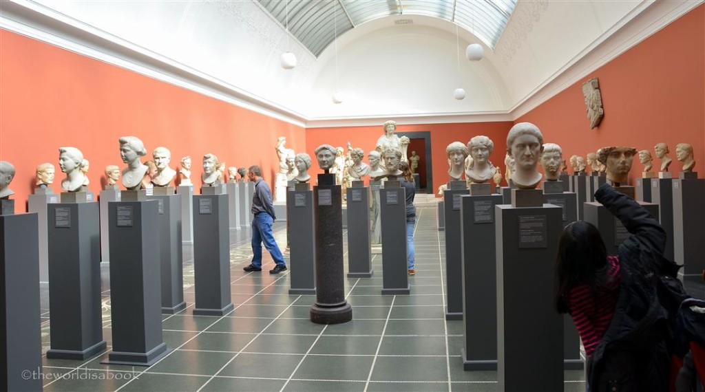 Glyptotek busts heads