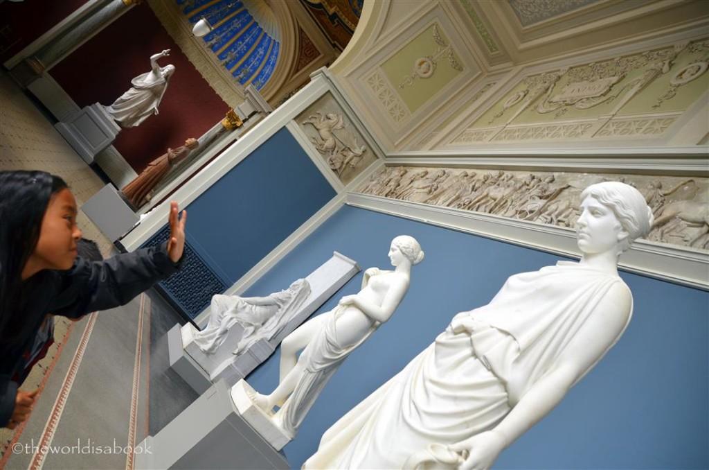 Glyptotek roman statues