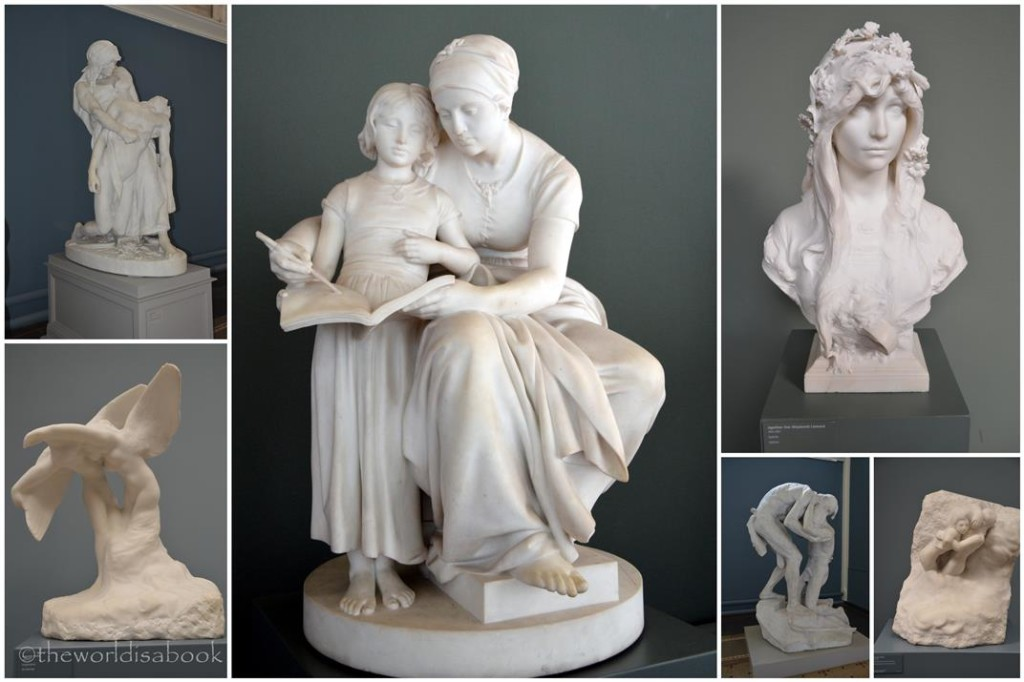 Glyptotek sculptures
