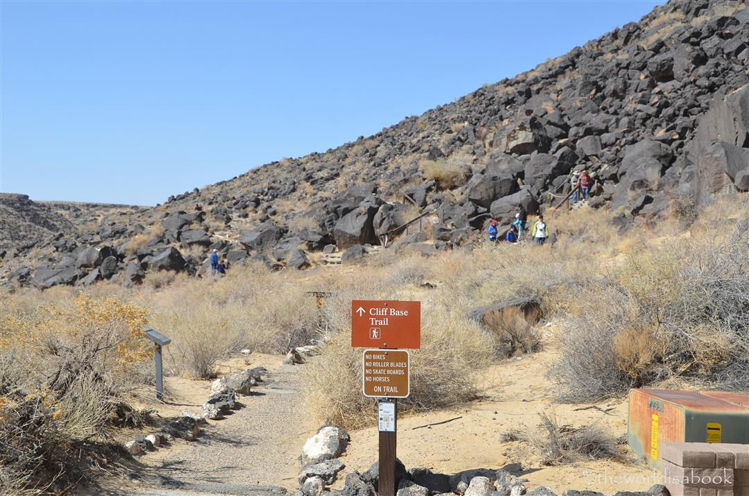 Petroglyph Cliff Base Trail
