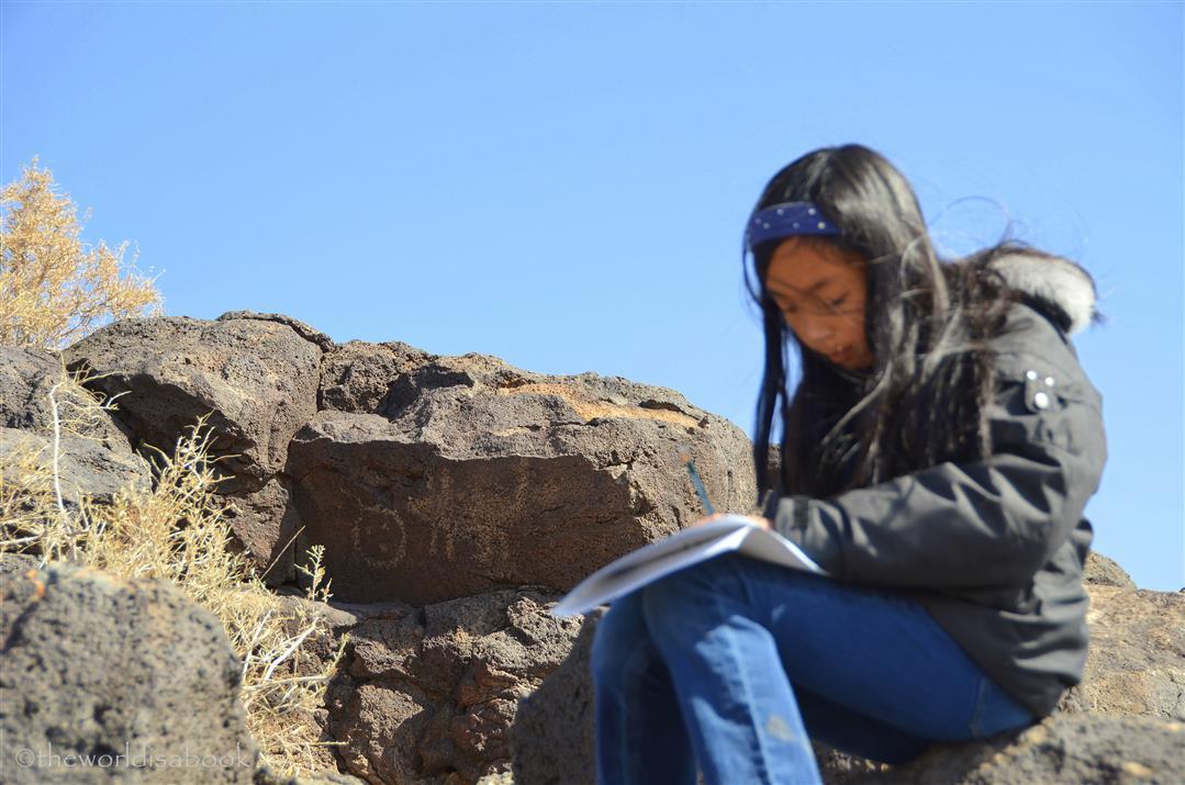 Petroglyph national monument junior ranger