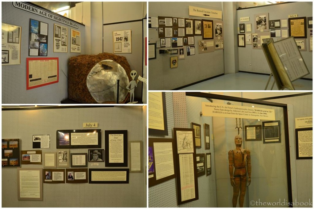 Roswell Incident exhibit
