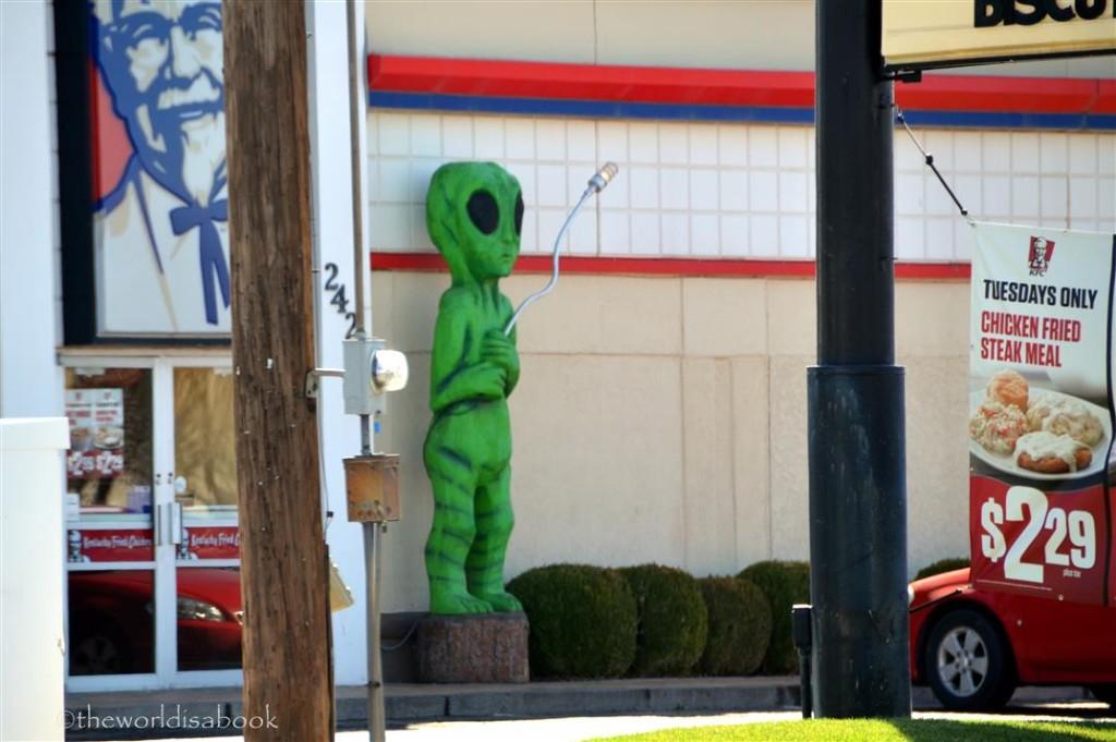 Roswell KFC Alien