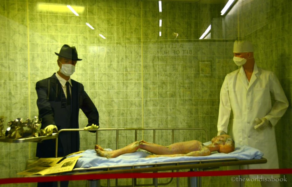Roswell Museum Alien body