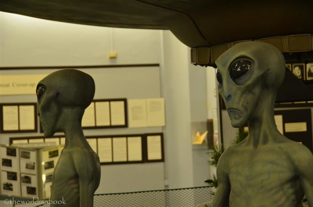 Roswell Museum Aliens